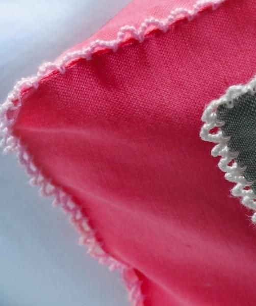 Leinen Bettwäsche und Kissenhülle von fleuresse provence in Pink