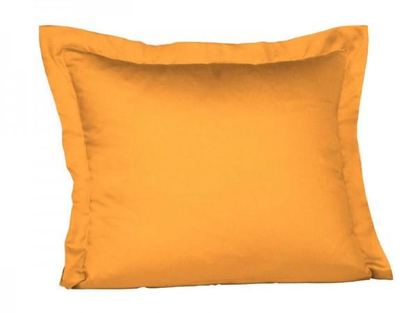 fleuresse Mako Satin Kissenbezug gold gelb