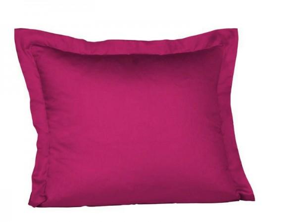 fleuresse Mako Satin Kissenbezug pink