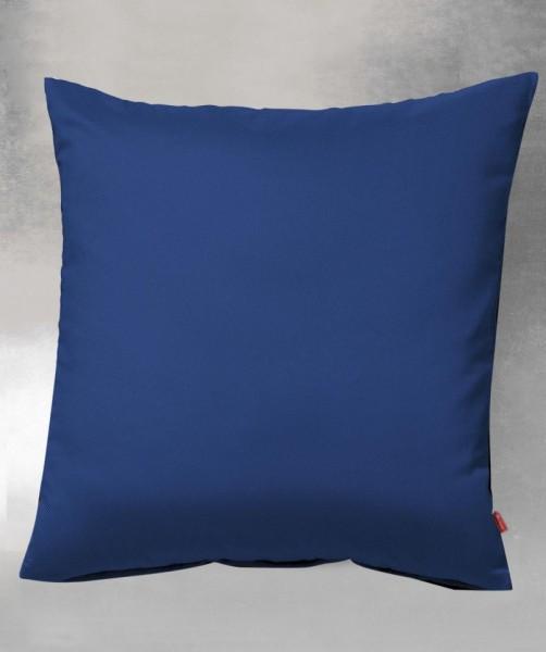 lech - Uni royal blau Flanell Kissenbezüge von fleuresse 40x40 und 40x80