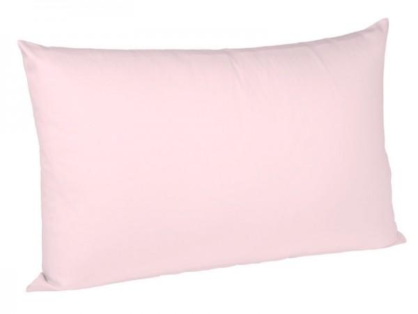 Uni Jersey Kissenhülle bügelfrei fleuresse rose / rosa