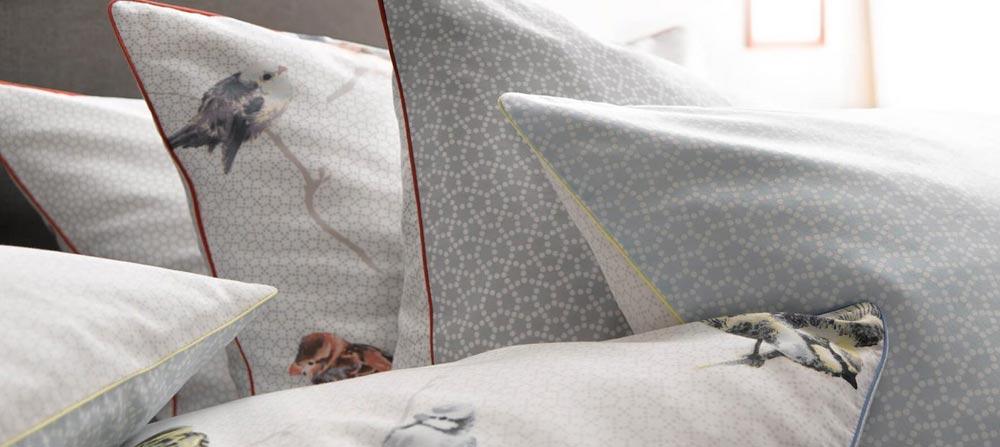 bettw sche blumen streifen muster design und farbe fleuresse qualit t bei ladyproject. Black Bedroom Furniture Sets. Home Design Ideas