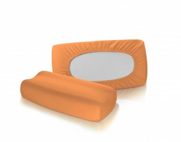 Nackenstützkissen Bezug - fleuresse vital comfort in Orange