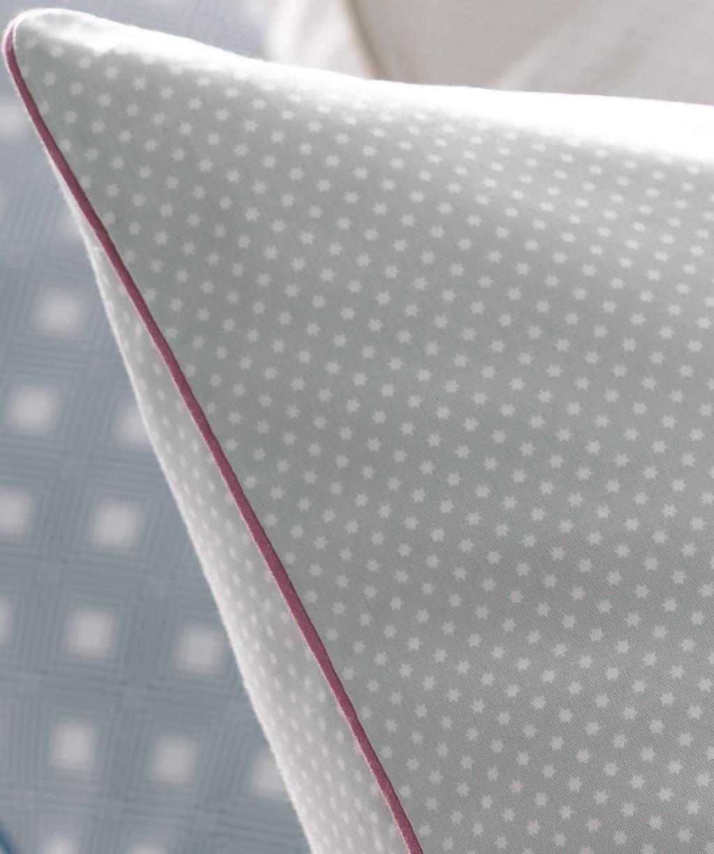 Grafische Bettwasche Grau Rot 155x220 Reduziert Ladyproject