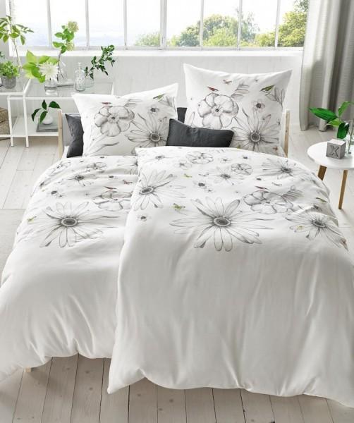 hochwertige mako satin blumenbettw sche 200x220 fleuresse bed art reduziert ladyproject. Black Bedroom Furniture Sets. Home Design Ideas