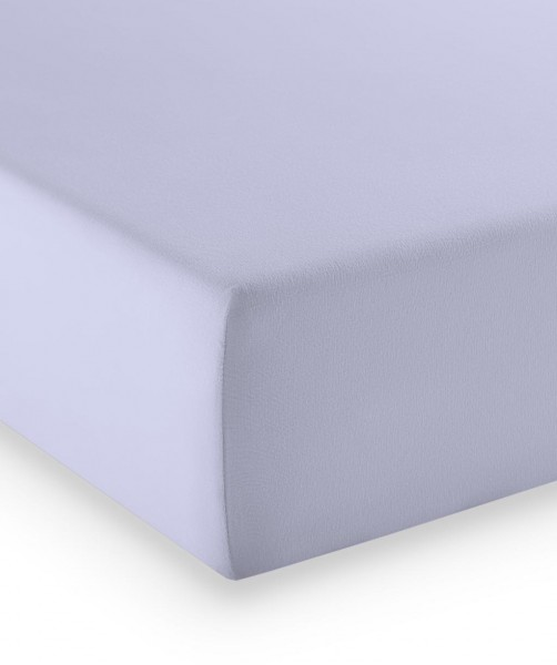 Premium Jersey fleuresse comfort Spannlaken h. lavendel