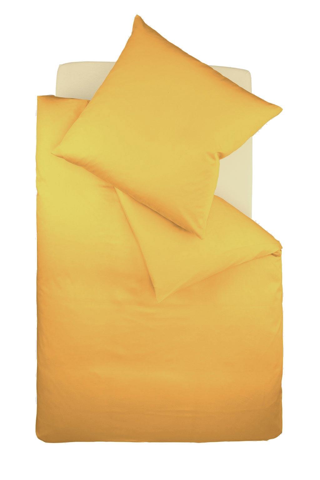 Bügelfreie Jersey Bettwäsche Gelb Von Fleuresse Colours Ladyproject