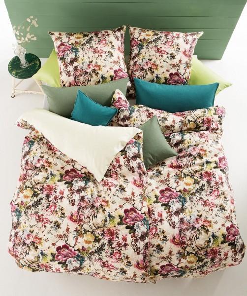 Blumen Bettwäsche mit Wendeseite von fleuresse bed art 135x200