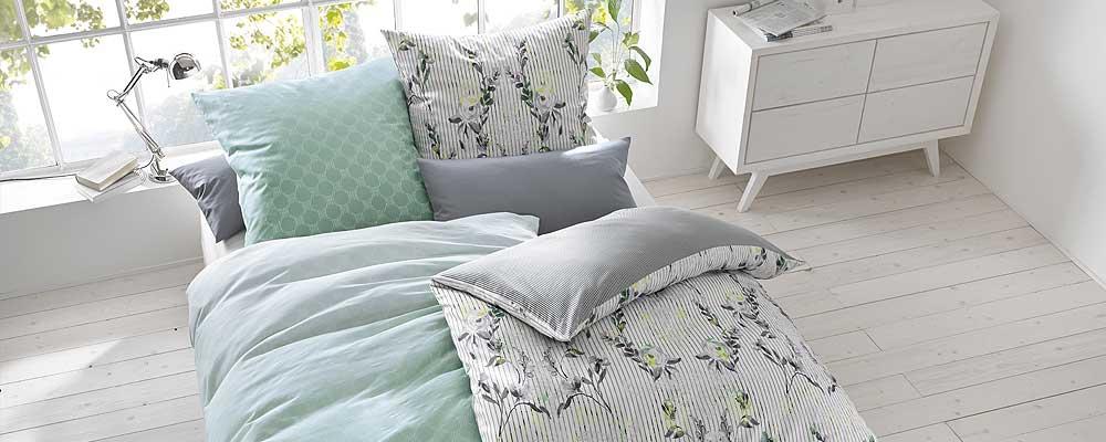 bettw sche blumen streifen muster design farbe. Black Bedroom Furniture Sets. Home Design Ideas