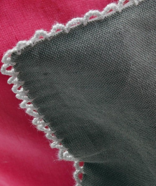 Unibettwäsche und Kissen aus Leinen-Baumwolle von fleuresse provence in Anthrazit