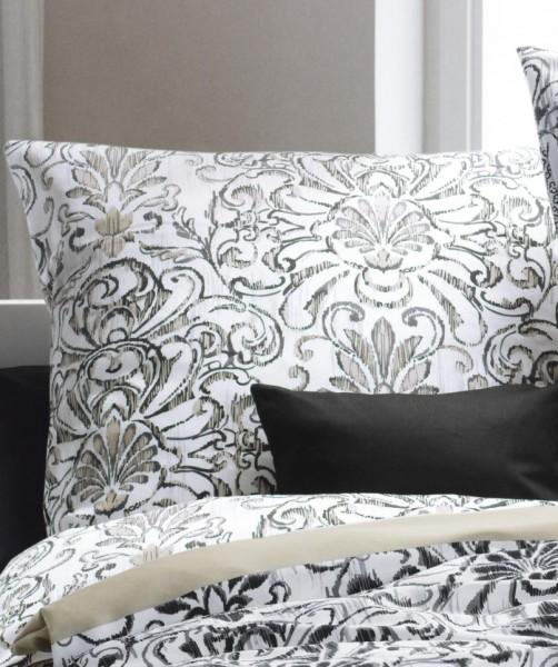 modern classic 113261-1 schwarz-weiß mit beige fleuresse 135x200